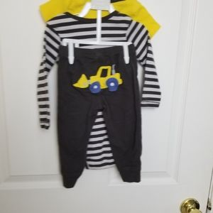 Carter's Matching Sets - Cute Carter's size 12 months construction outfit